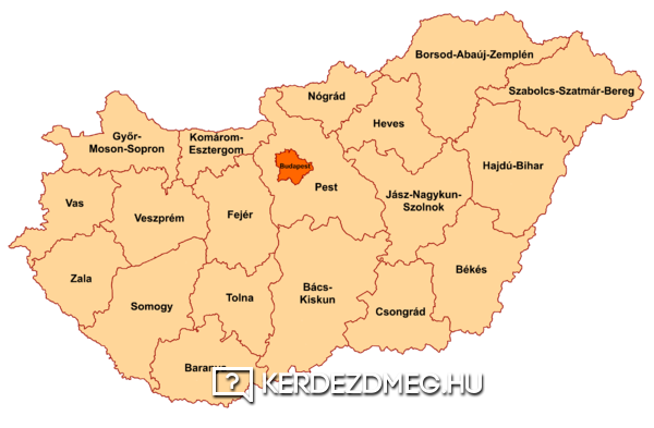 Hány megye van Magyarországon?