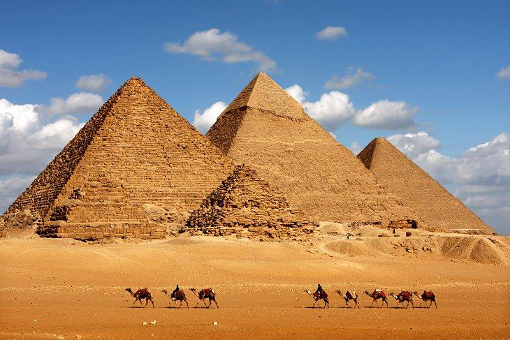 Rejtélyes Gízai piramisok