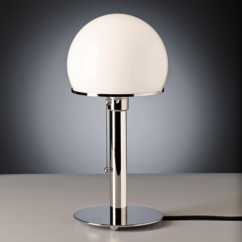 Azt kell, hogy mondjam ez az 1924-ben tervezett Bauhaus stílusú lámpabura csodás összképet alkot a lámpával.