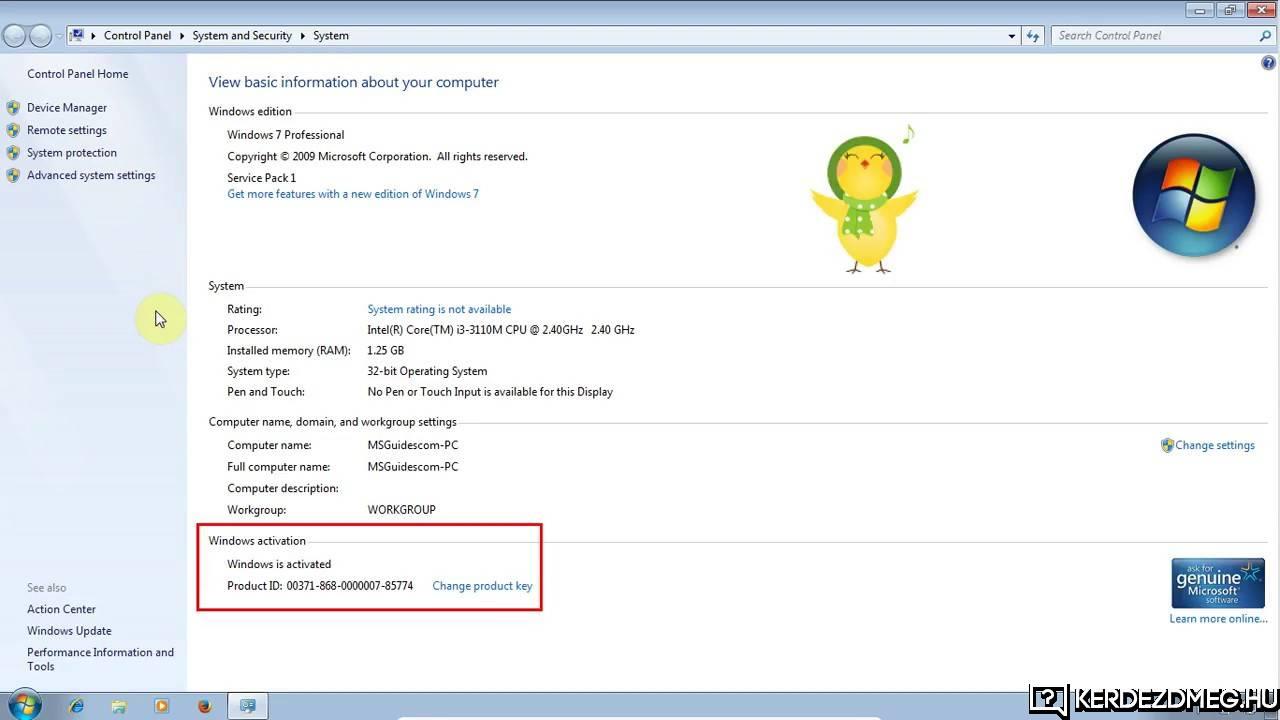 RE: Windows7 ujra telepités